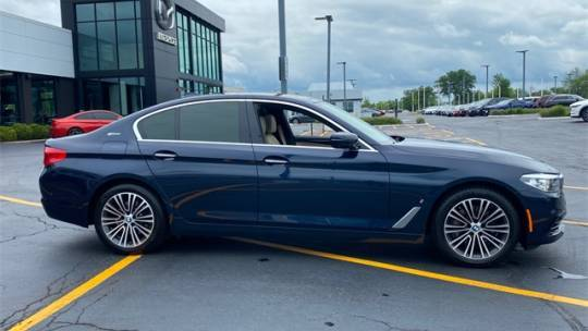2018 BMW 5 Series WBAJB1C5XJG624289