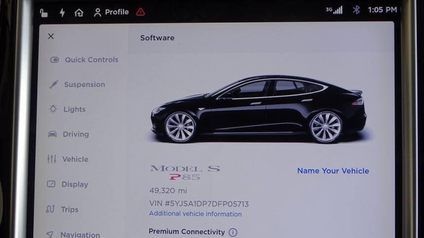 2013 Tesla Model S 5YJSA1DP7DFP05713