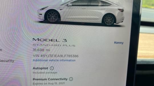 2020 Tesla Model 3 5YJ3E1EA9LF785386