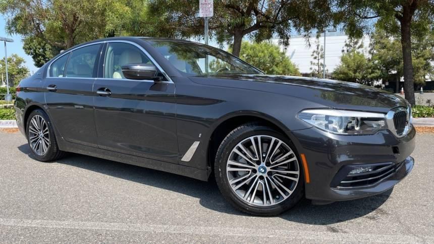 2018 BMW 5 Series WBAJA9C55JB251368