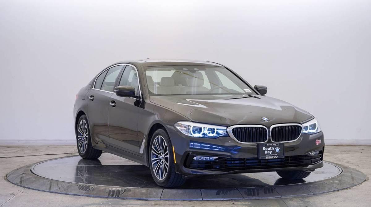2018 BMW 5 Series WBAJA9C55JB252620