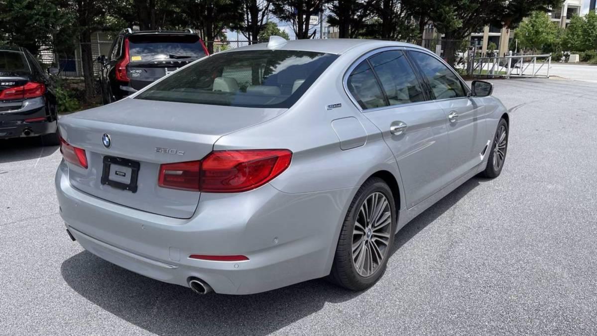 2018 BMW 5 Series WBAJA9C53JB252521