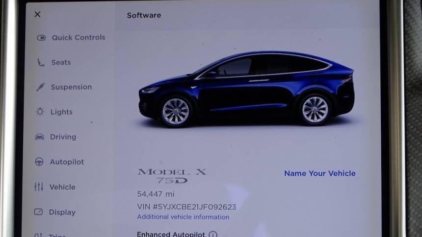 2018 Tesla Model X 5YJXCBE21JF092623