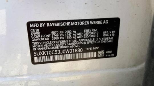 2018 BMW X5 xDrive40e 5UXKT0C53J0W01880