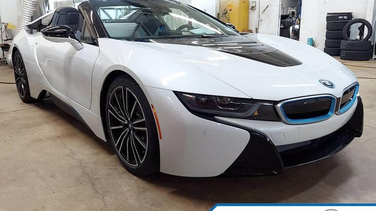 2019 BMW i8 WBY2Z6C52K7E22579