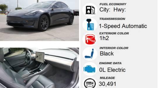 2019 Tesla Model 3 5YJ3E1EB5KF452190