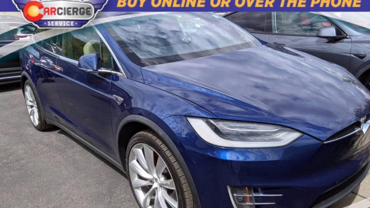 2016 Tesla Model X 5YJXCAE47GFS00375