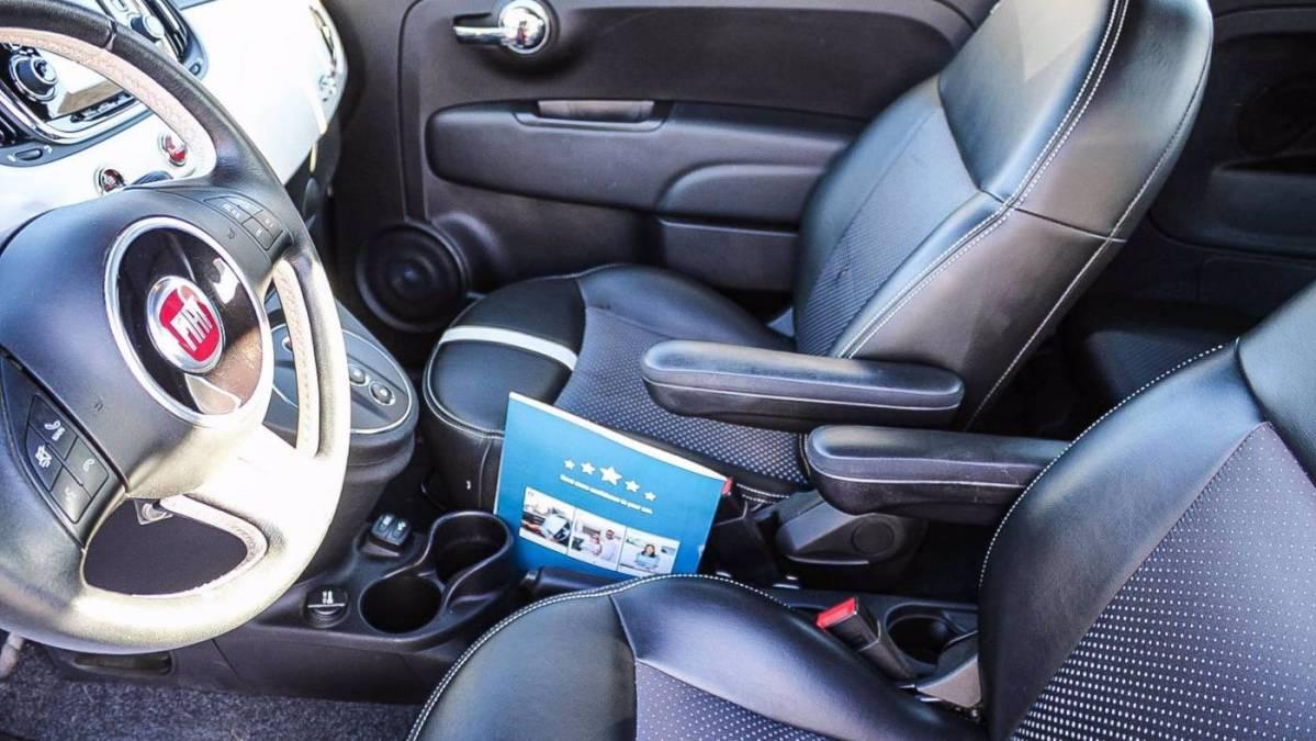 2018 Fiat 500e 3C3CFFGE2JT377521