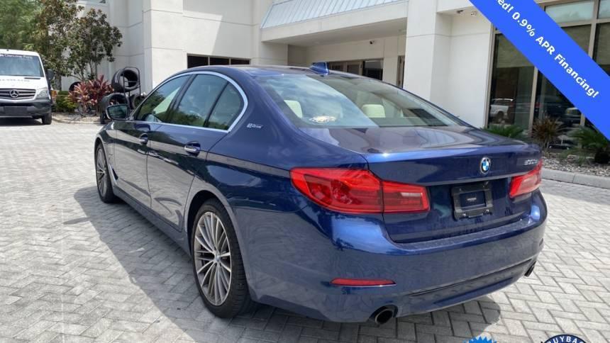 2018 BMW 5 Series WBAJA9C59JB252071