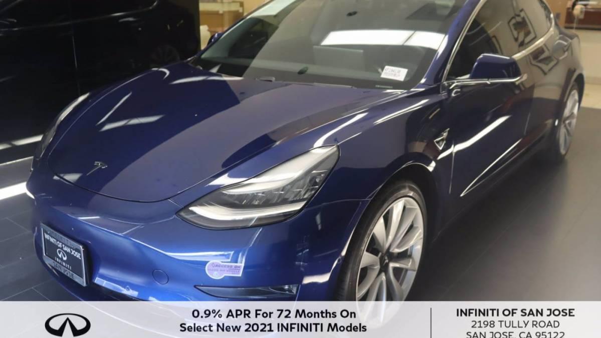 2019 Tesla Model 3 5YJ3E1EB5KF194138