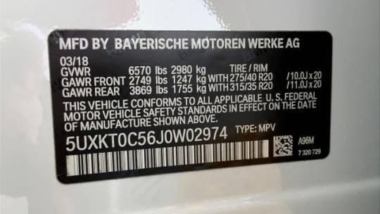 2018 BMW X5 xDrive40e 5UXKT0C56J0W02974