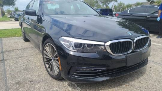 2018 BMW 5 Series WBAJB1C56JB374501