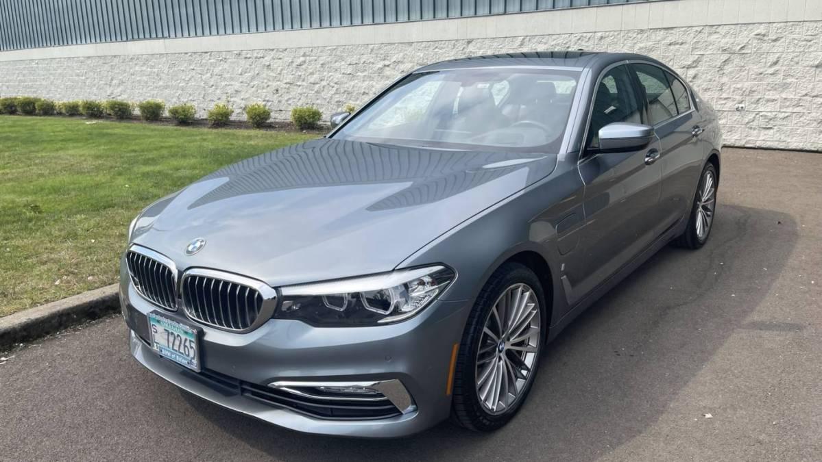 2018 BMW 5 Series WBAJB1C52JB084160