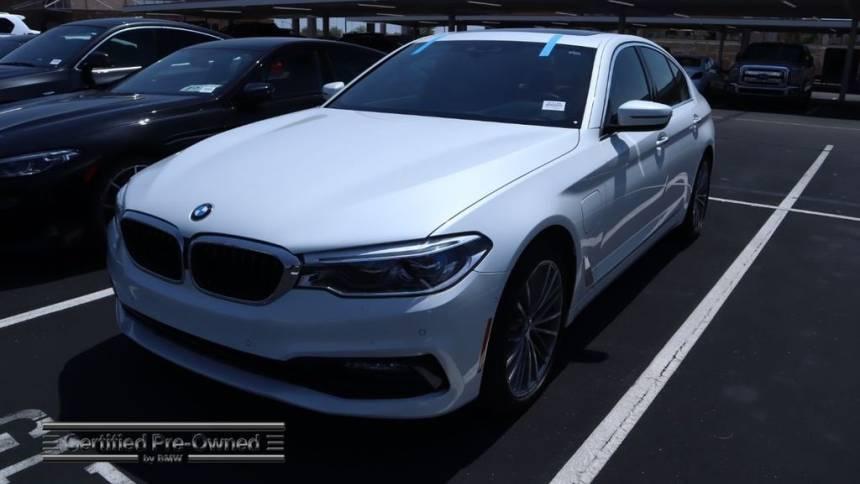 2018 BMW 5 Series WBAJA9C54JB251376