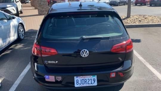 2016 Volkswagen e-Golf WVWPP7AUXGW901193