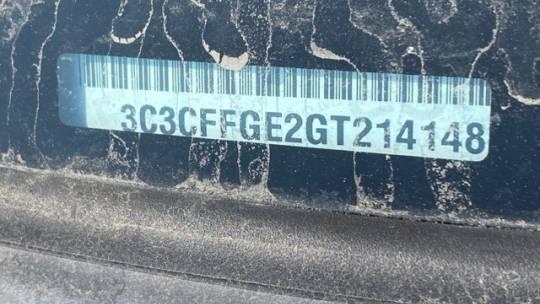 2016 Fiat 500e 3C3CFFGE2GT214148