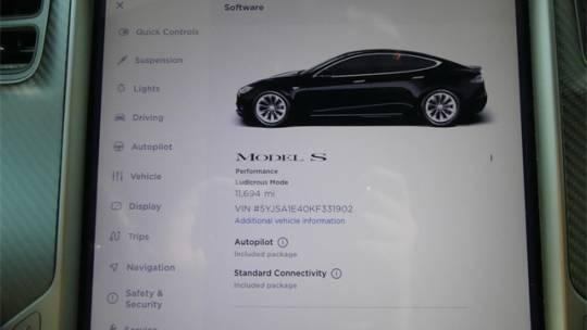 2019 Tesla Model S 5YJSA1E40KF331902