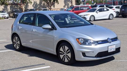 2016 Volkswagen e-Golf WVWKP7AU4GW913947