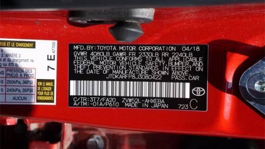 2018 Toyota Prius Prime JTDKARFP8J3080422