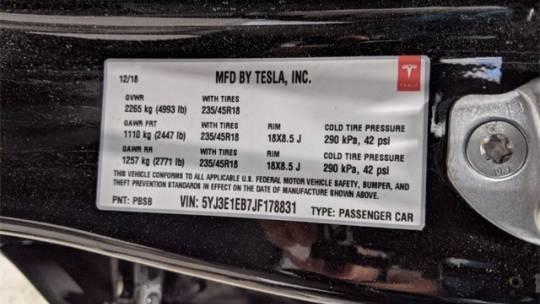 2018 Tesla Model 3 5YJ3E1EB7JF178831