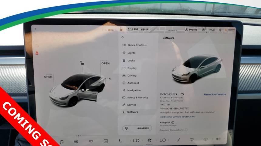 2020 Tesla Model 3 5YJ3E1EB4LF637817