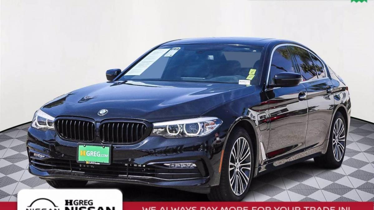 2018 BMW 5 Series WBAJA9C56JB252142