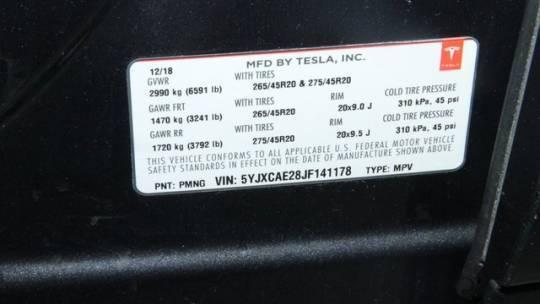 2018 Tesla Model X 5YJXCAE28JF141178