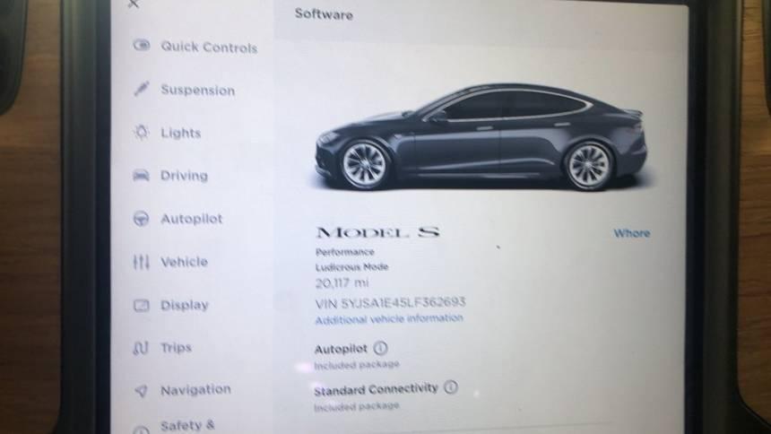 2020 Tesla Model S 5YJSA1E45LF362693