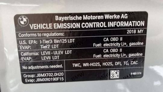 2018 BMW X5 xDrive40e 5UXKT0C57J0W02921