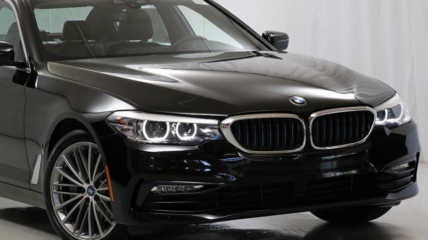 2018 BMW 5 Series WBAJB1C53JB374343