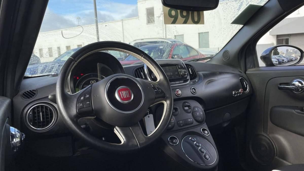 2018 Fiat 500e 3C3CFFGE2JT377342