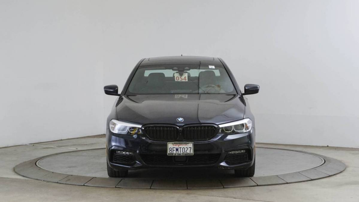 2019 BMW 5 Series WBAJA9C56KB254099