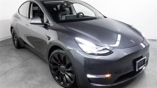 2021 Tesla Model Y 5YJYGDEE7MF076803