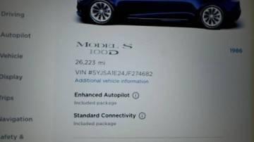 2018 Tesla Model S 5YJSA1E24JF274682