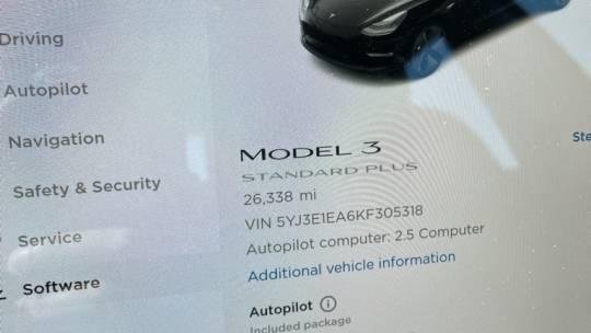 2019 Tesla Model 3 5YJ3E1EA6KF305318