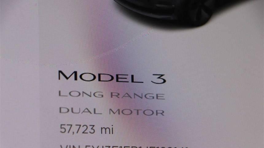2018 Tesla Model 3 5YJ3E1EB1JF129141